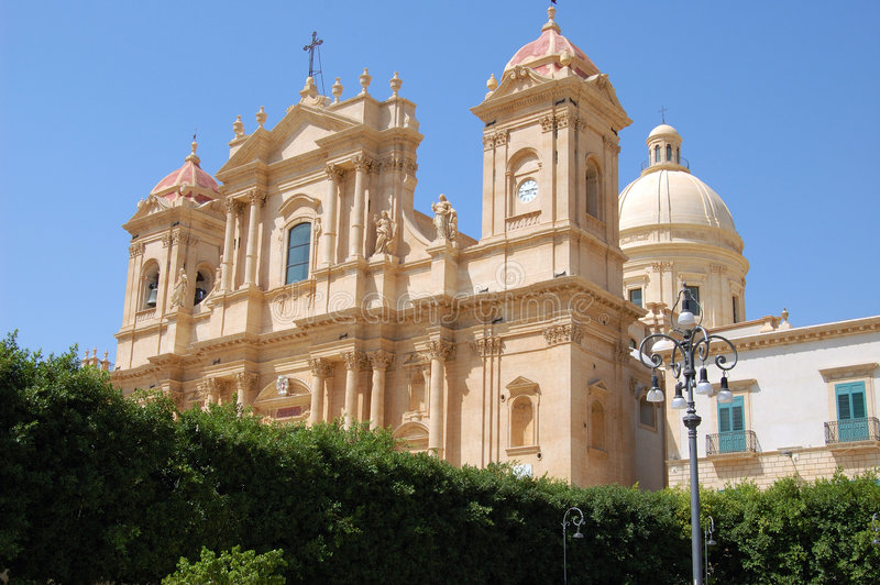 Download Noto's church stock image. Image of stone, ancient, religion - 8575831