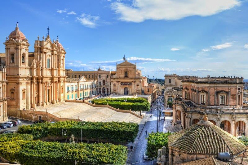 Noto, Sicilia fotografie stock