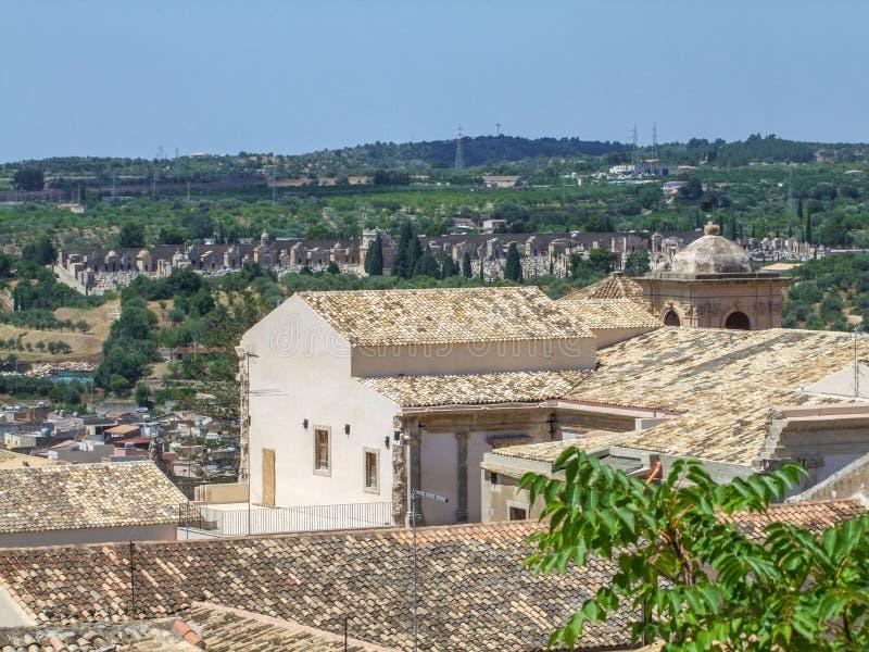Noto in Sicilia immagini stock libere da diritti