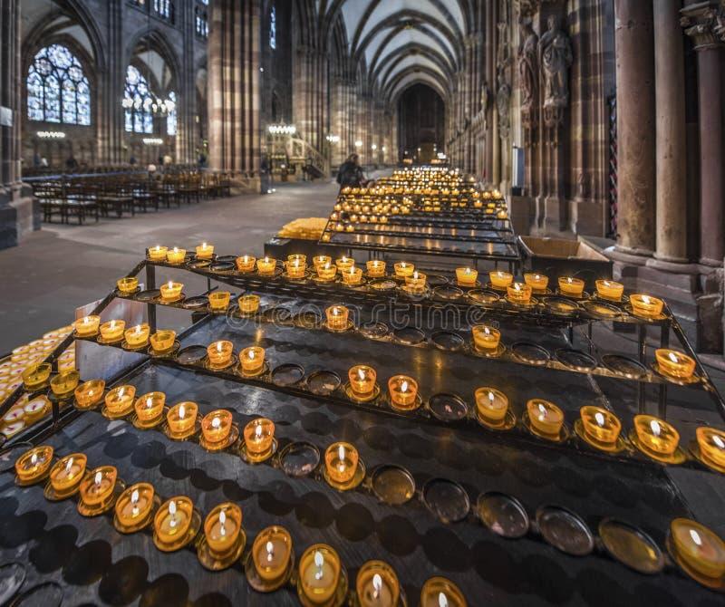 Notre Запруда de Страсбург стоковое изображение rf