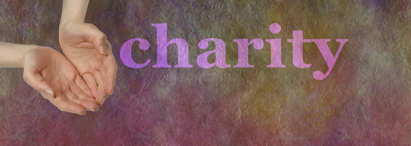 Notre charité a besoin de votre donation photos libres de droits