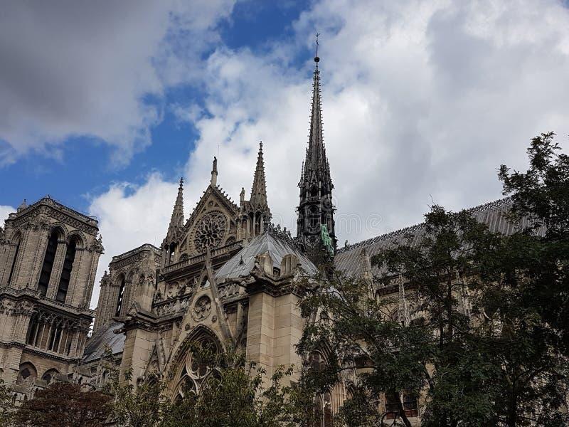 Notre Dame大教堂 免版税库存图片