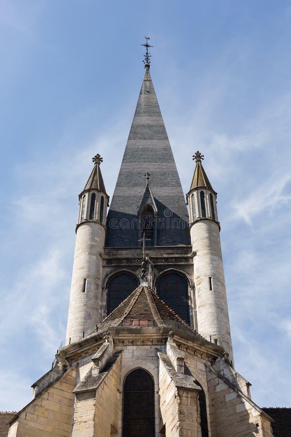 Notre Dame,第茂,法国 免版税图库摄影