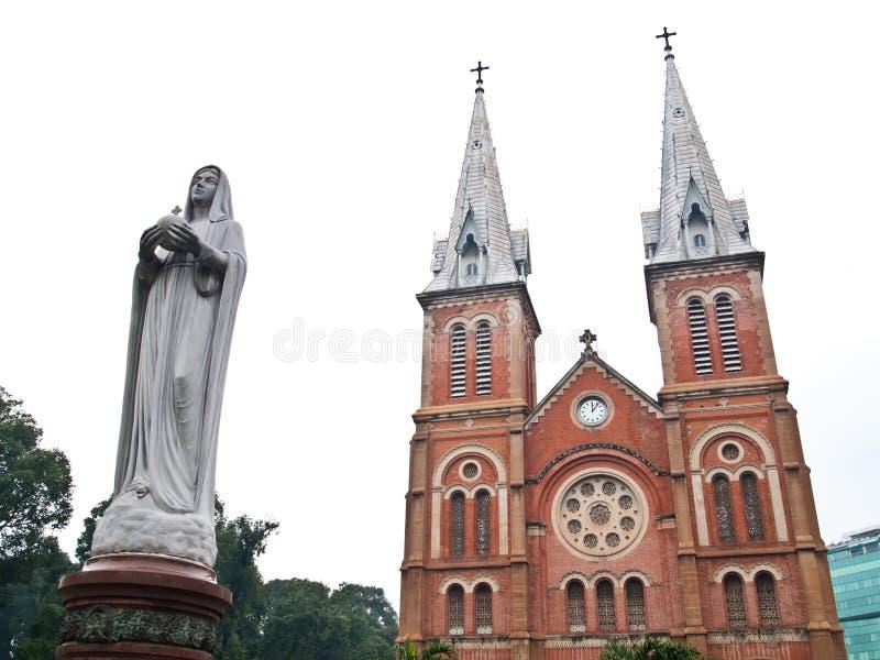 Notre Dame à Ho Chi Minh Ville, Vietnam photo stock