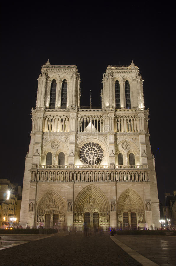 Download Notre dame stock photo. Image of historic, dark, historical - 26307628