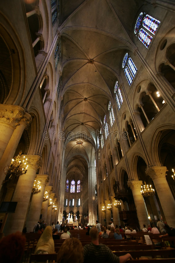 Notre Dame fotografia stock libera da diritti