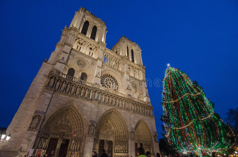 Notre Dame 图库摄影