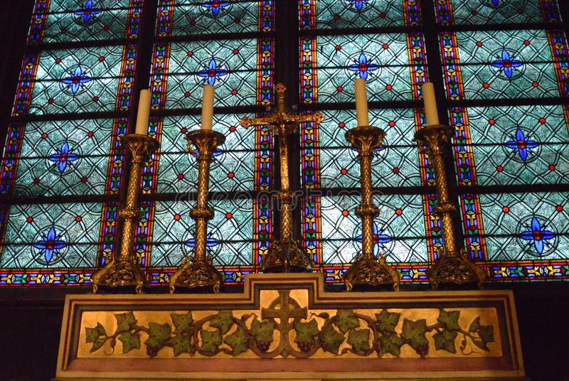 Notre Dame imagem de stock