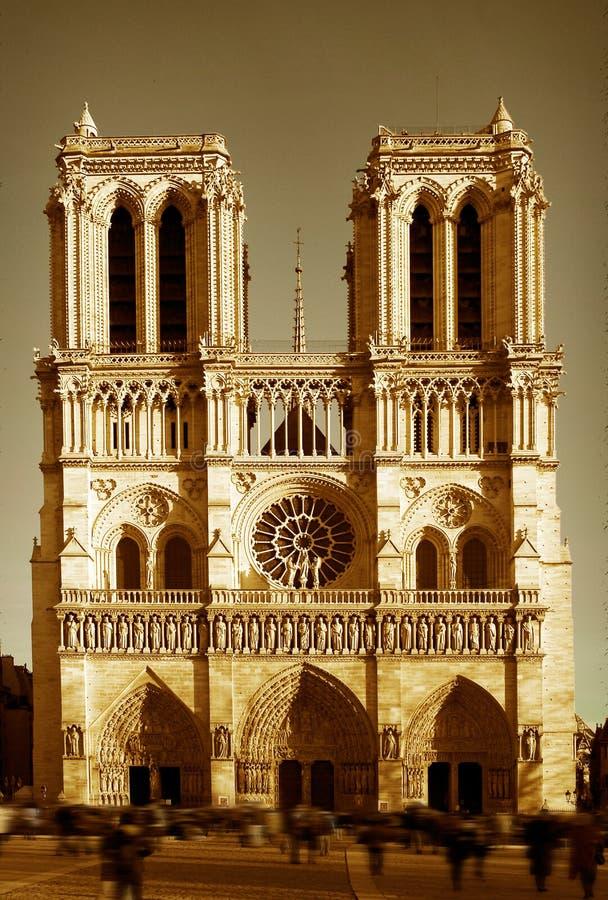 Notre Dame imagen de archivo libre de regalías