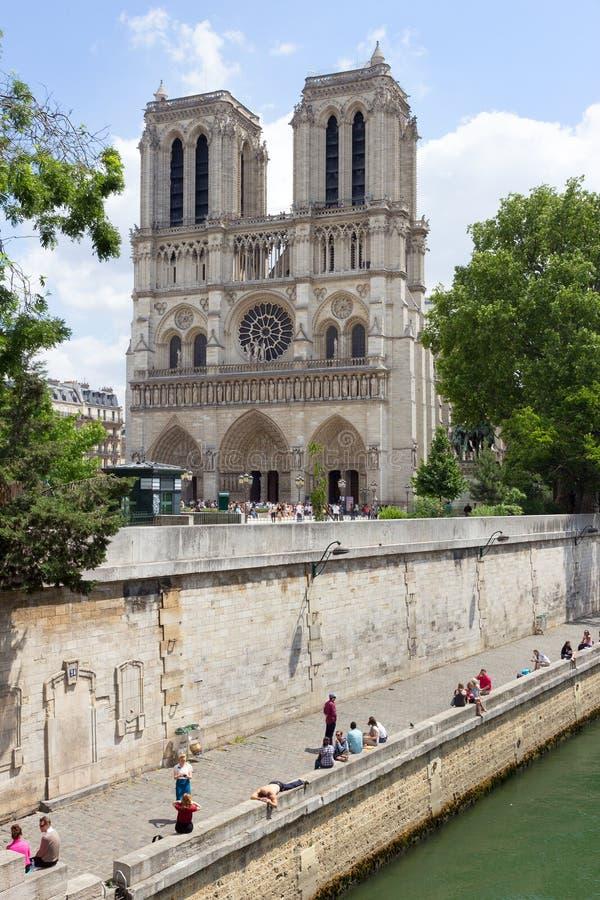 巴黎Notre Dame 图库摄影