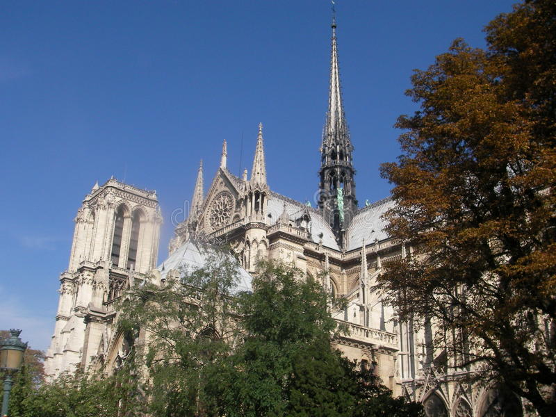 Notre-Dame fotos de stock royalty free