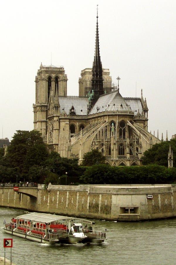 Notre Dame-Kathedrale Lizenzfreie Stockfotos