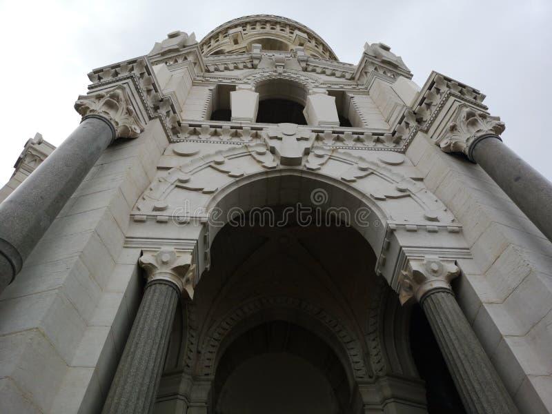 Notre-Dame basílica de Fourvière, Lyon, França imagem de stock royalty free
