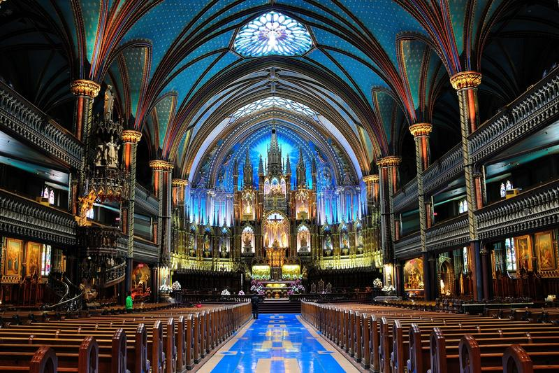 Download Notre Dame Basilica stock image. Image of worship, glass - 20153451