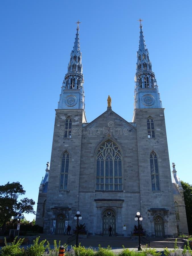 Notre Dame Basilica d'Ottawa photos libres de droits