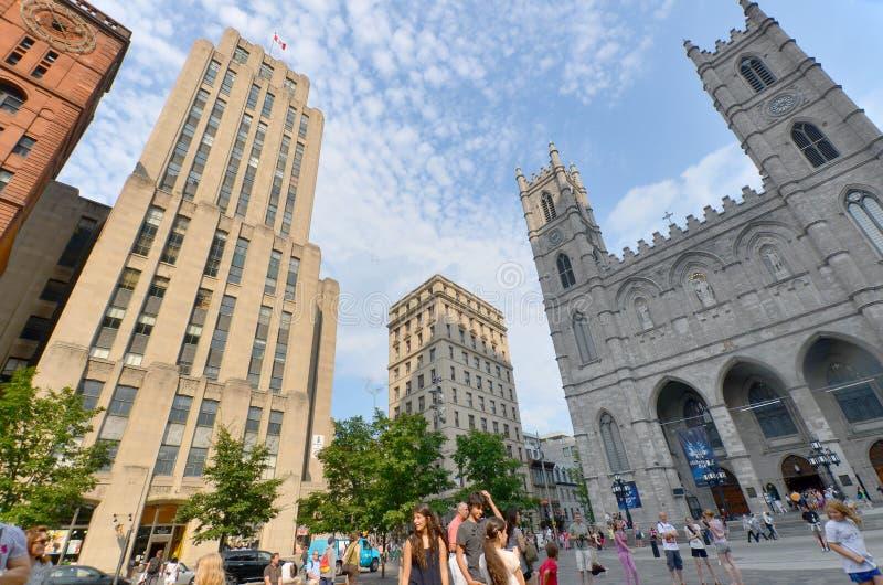 Notre-Dame-Basilika stockfotografie