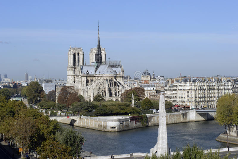 Notre Dame Cathedral stock photography