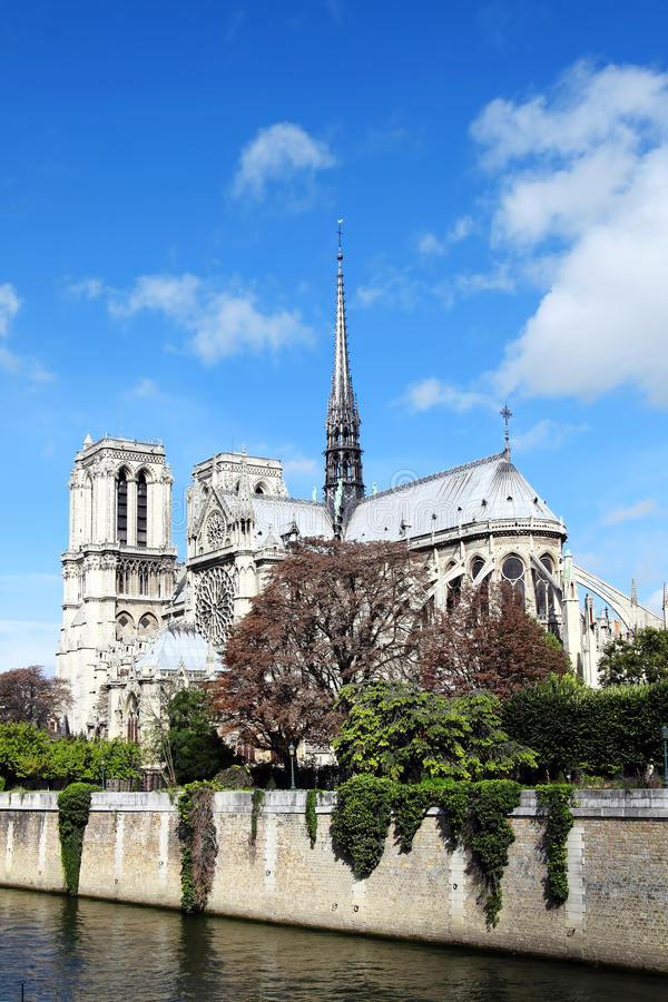 Download Notre Dame Cathedral stock photo. Image of history, scenics - 22636236