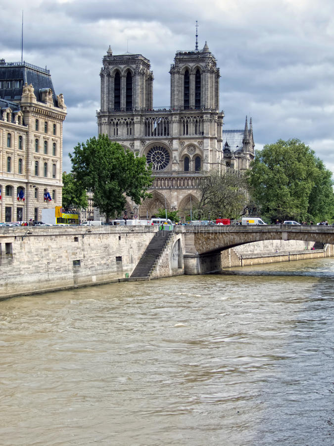 Download Notre Dame Cathedral stock photo. Image of catholicism - 26020194