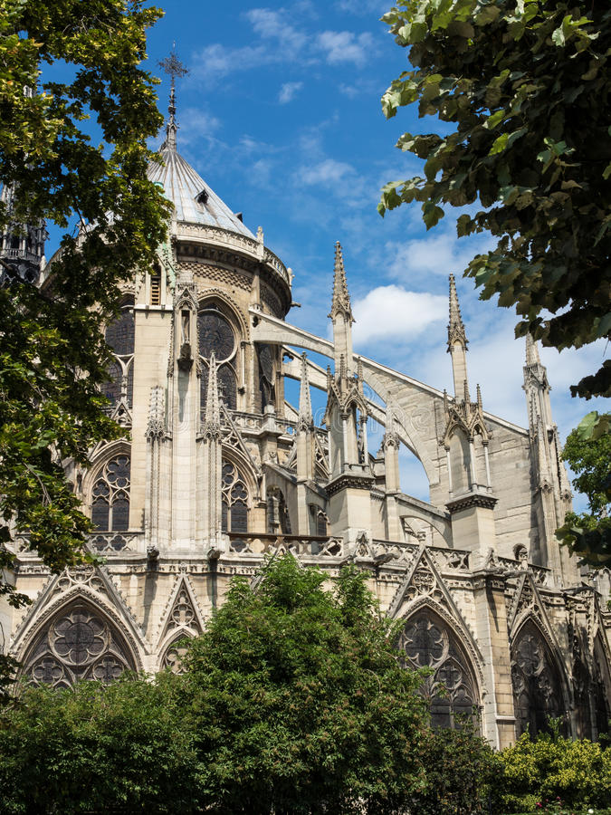 Download Notre Dame Cathedral stock photo. Image of europe, facade - 26203022