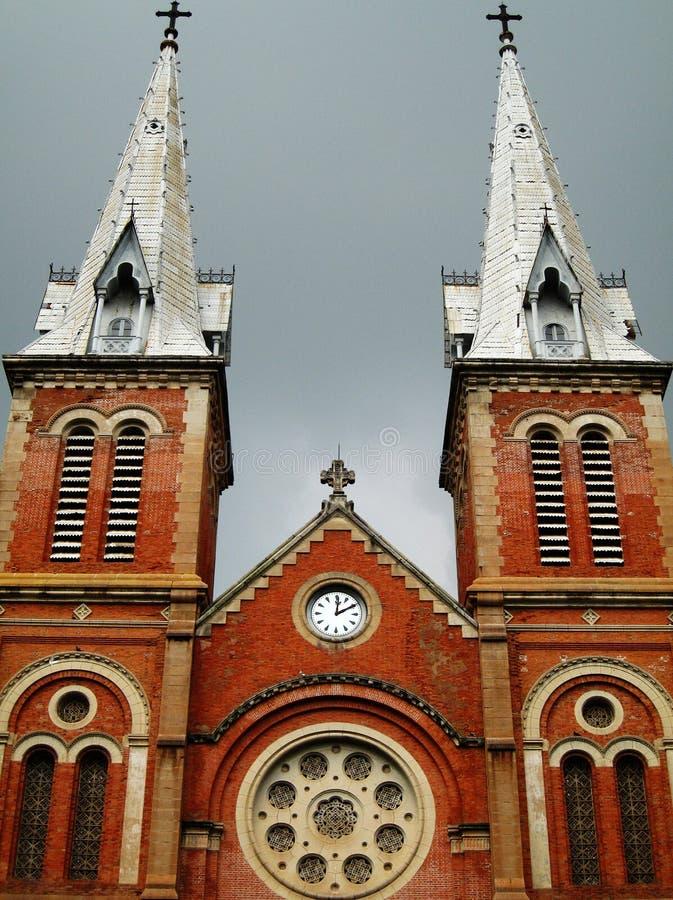Notre Dame Cathedral royaltyfria bilder