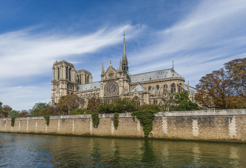 Download Notre Dame Cathedral - Paris Royalty Free Stock Images - Image: 27069649
