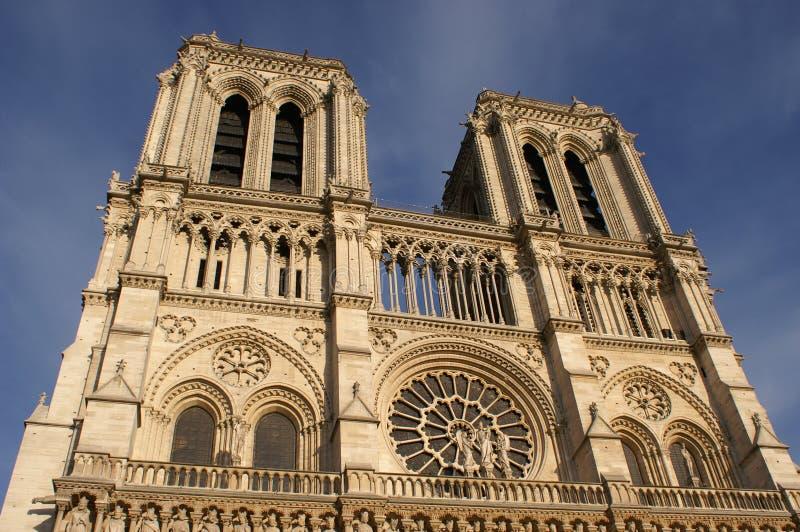 Notre Dame cathedral Paris stock photo