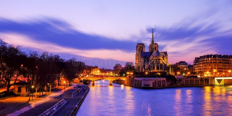 Notre Dame Cathedral, Paris, France images libres de droits