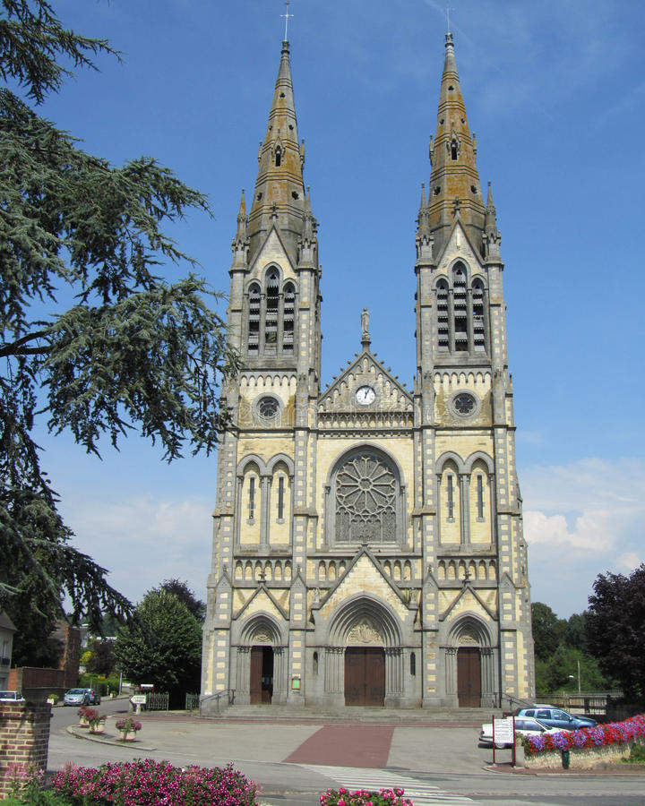 Notre-Dame Church, France royalty free stock photography
