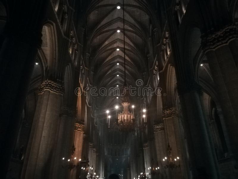 Notre Dame de兰斯 免版税库存照片