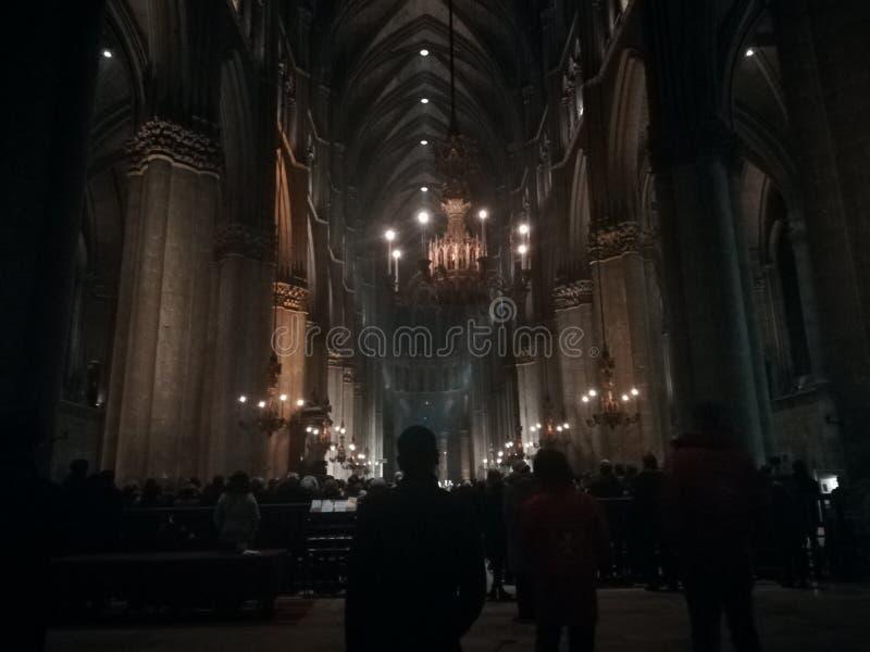 Notre Dame de兰斯 免版税库存图片