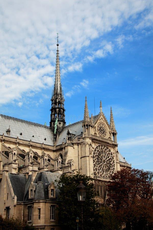 Notre Dame de巴黎 图库摄影
