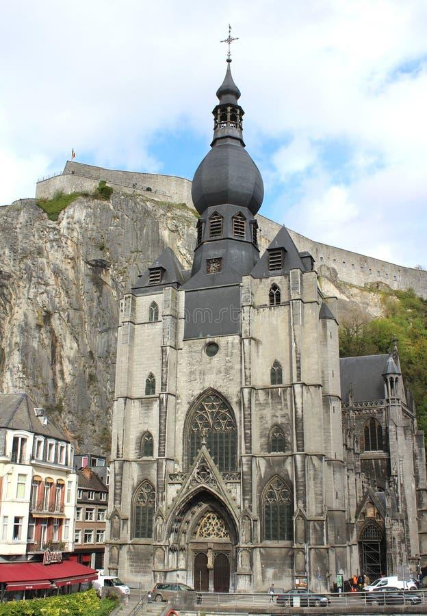 Notre Dame de迪南 库存图片