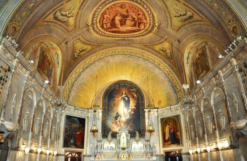 Notre-Dame-de-Bon-Secours Chapel, Montreal royalty free stock image