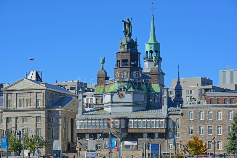 Notre-Dame-de-Bon-Secours Chapel, Montreal, Canada. Notre-Dame-de-Bon-Secours Chapel chapelle Notre-Dame-de-Bon-Secours, Our Lady of Good Help, Montreal, Quebec royalty free stock image