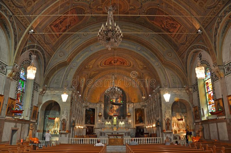 Notre-Dame-de-Bon-Secours Chapel, Montreal, Canada. Notre-Dame-de-Bon-Secours Chapel, Montreal, Quebec, Canada. It is one of the oldest churches in Montreal, it royalty free stock photography