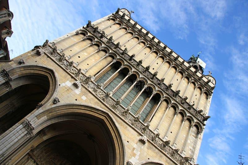 Notre Dame de Dijon fotos de stock