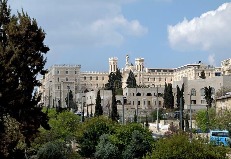 Notre Dame de Jerusalén foto de archivo