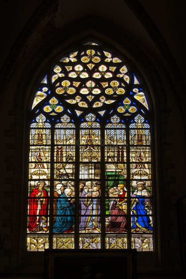 la chapelle de la. Download Notre Dame De La Chapelle Church In Brussels Editorial Photography - Image Of City,