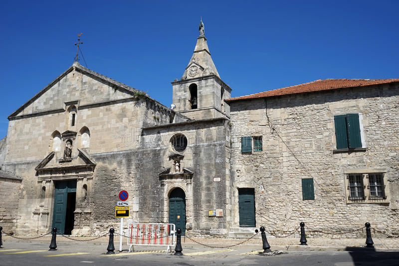 Notre Dame de la Major Church stockfoto