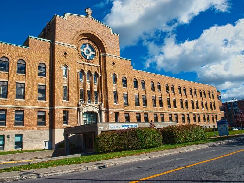 Notre-Dame de la Merci Hospital imagens de stock royalty free
