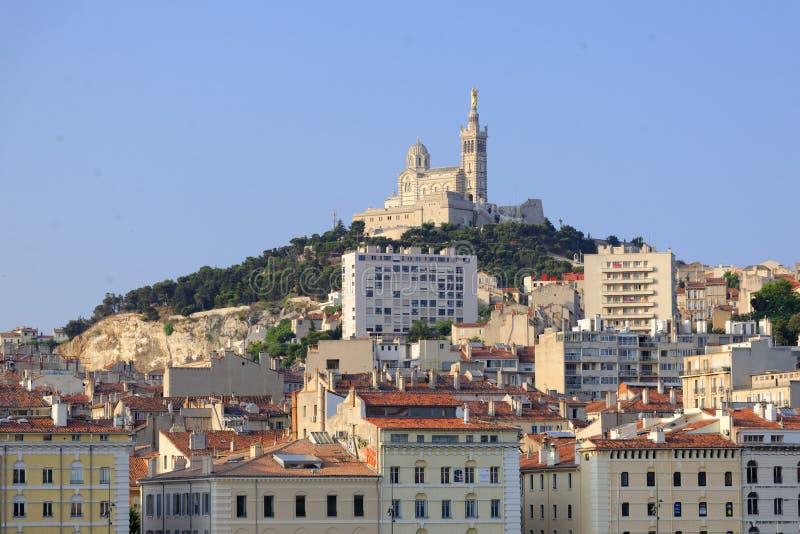 Notre-Dame de los angeles Garde obraz royalty free