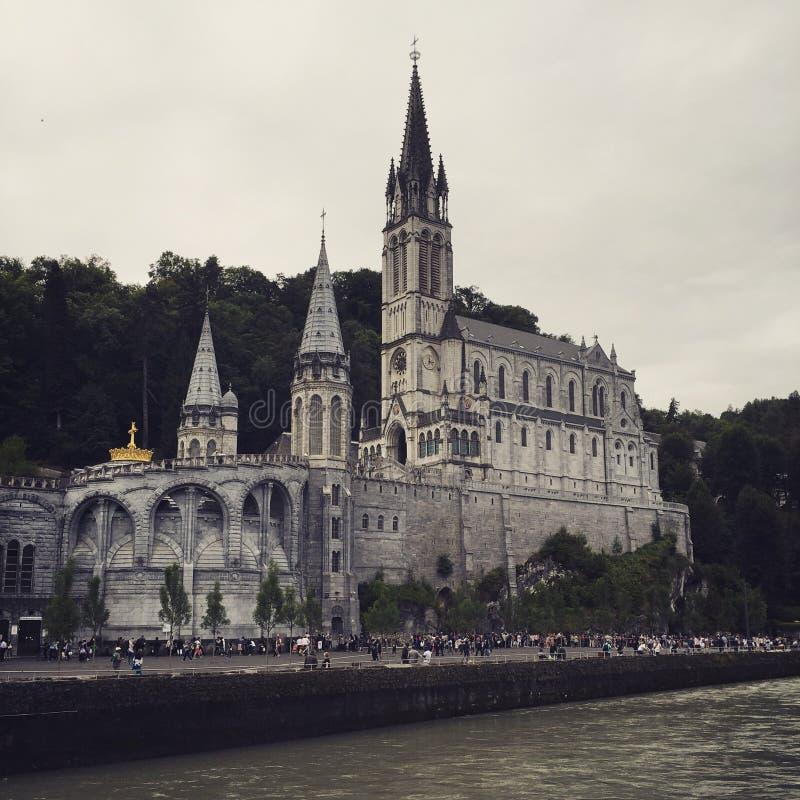 Notre Dame de Lourdes fotografia de stock royalty free
