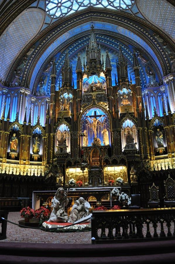 Notre Dame de Montréal lizenzfreies stockbild
