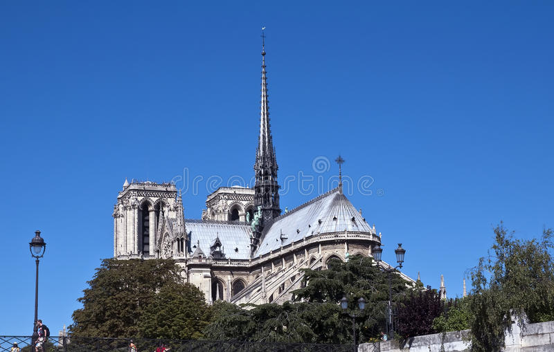 Notre Dame de Paris immagine stock
