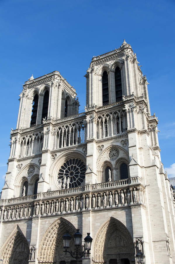 Download Notre Dame de Paris stock photo. Image of monument, cite - 27638378