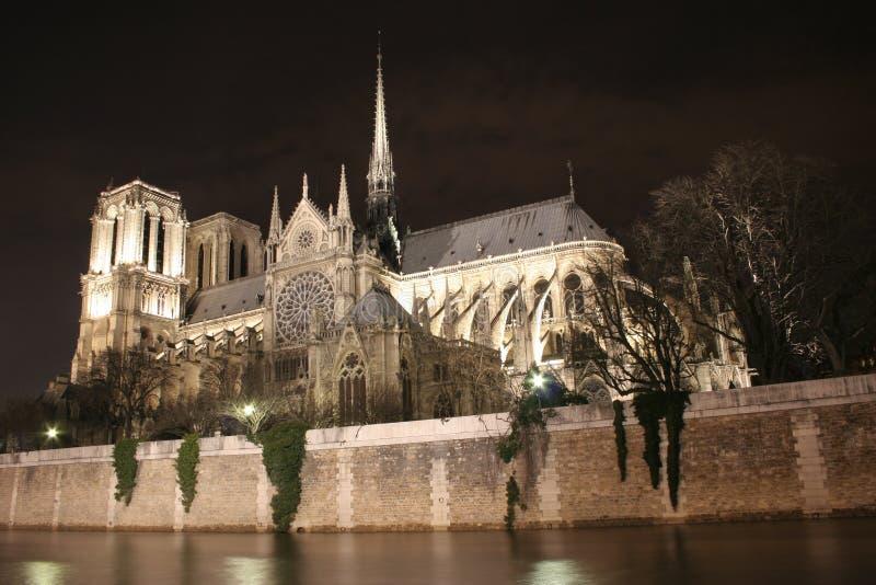 Notre Dame de Paris foto de archivo libre de regalías