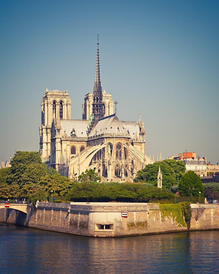 Notre Dame De Paris obrazy royalty free