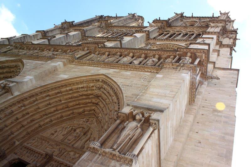 Notre Dame de Paris photos libres de droits