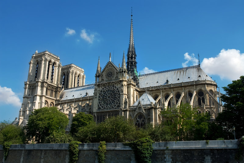 Notre Dame de Paris fotografie stock libere da diritti